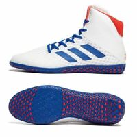 Adidas Mat Wizard 4 Wrestling Boots Adult Mens Women White Boxing Shoes Gym Foot