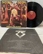 Twisted Sister - Under The Blade - Vinyl LP Record - Atlantic A1-81256-VG+ 1985