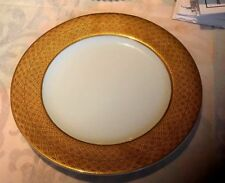 Made for MPD 1994 ~ Gold Border ~ Oval Platter/ Chop Plate/Charger ~
