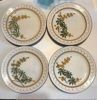 "Stangl Pottery Golden Blossom Bread Butter Dessert Plates 6 1/8"""
