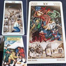 Bruegel Tarot Deck Vintage Rare Mystical Cards 2003 Lo Scarabe OOP