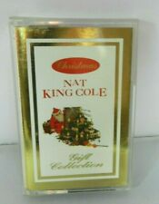 Nat King Cole Christmas Gift Collection Cassette Tape 1992 Made in Italy
