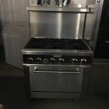 Serv Ware 6 Burner Range Gas Sgr-6 New unit Great Value