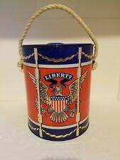 Vintage Prestige Products Metal Patriotic Eagle Liberty Ice Bucket with Lid '67