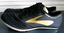 BROOKS QWK III mens track sprinting spiked cleats shoes sz 13 euc