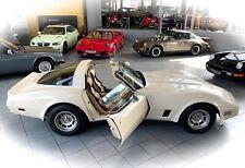 *MUSKELPROTZ MIT PATINA* Chevrolet Corvette C3 T-Top Targa im Oldtimer Museum