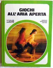 GIOCHI ALL'ARIA APERTA GIOVANI MARMOTTE MONDADORI 1976