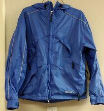 Kelty Women's All Weather Rain Jacket breathable back packing gear blue medium