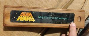 Star Wars Original Vintage Helix 1977 Pencil Case / Box