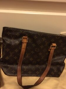 AUTHENTIC LOUIS VUITTON MONOGRAM CANVAS CABAS PIANO TOTE BAG