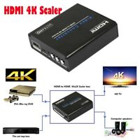 HDMI to HDMI 4K Scaler Converter Amplifier HDMI Down/Upscaler  4K*2K 3D 1080P