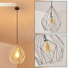 Lampe à suspension Retro Lampe pendante Plafonnier Lustre Lampe de couloir Acier