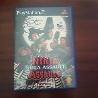 Ninja Assault Sony Playstation 2 Game PS2 Complete with Manual PAL Free Post VGC