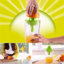 Fruit Tool Handy Plastic Lemon Squeezer Manual Pressure Squeezer Citrus Juicer~