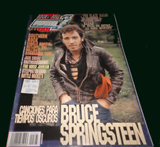 Bruce Springsteen (cover + 14 pages) - Popular 1 Magazine Rare - Spain