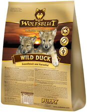 Wolfsblut Wild Duck Puppy 15 kg Hundefutter für Welpen