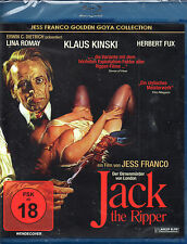 Jack The Ripper - Blu-Ray Disc - Jess Franco - Uncut Version -