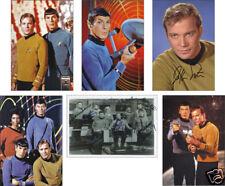 Star Trek Original série Set de cartes postales copie autos