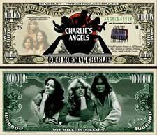 DROLES DE DAMES CHARLIE ANGELS BILLET MILLION DOLLAR ! Collection FARRAH FAWCETT