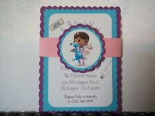 Doc McStuffin Invitations - Toy Doctor Invitations