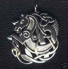STUNNING STERLING SILVER CELTIC HORSE PENDANT