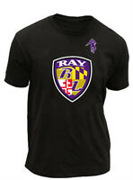 Adult NFL Sports Team Superbowl Baltimore Ravens Ray Lewis Champion T-Shirt Tee