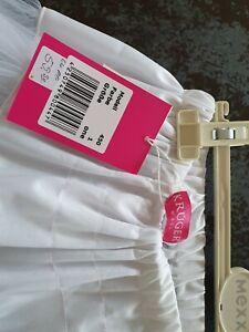 KRUGER Weißer Petticoat Dirndl Unterrock Gr. ONE