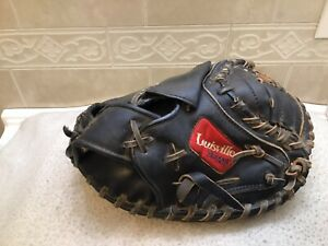 "Louisville Slugger GTPX-221 32"" Youth Black Baseball Catchers Mitt Right Throw"