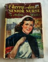 1944 Cherry Ames Book SENIOR NURSE by Helen Wells Grosset & Dunlap