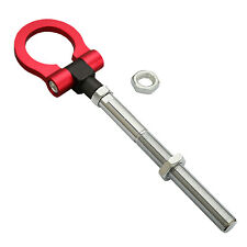 Heavy Duty Red Screw On Tow Hook for Subaru WRX STI Impreza Outback ,Scion FR-S