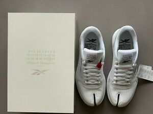 Reebok x Maison Margiela Classic Leather Tabi Shoes White Size 9 UK