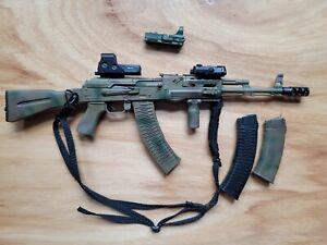 Spetsnaz Assault Rifle AK74M Set 1/6 DamToys Elite Firearms Series 2 EF009 USA
