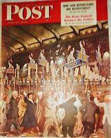 The Saturday Evening Post June 19, 1948 political upheaval Truman upsets Dewey