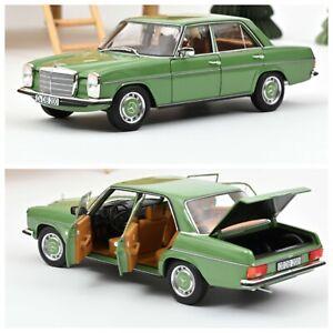 1/18 Norev Mercedes Benz 200 1973 Green Neuf Boîte D'Origine Livraison Domicile
