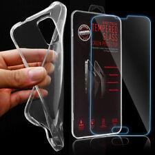 Silikon Schutz Hülle Bumper Handy Tasche Schutzfolie für Samsung Sony HTC Apple