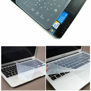"""Universal Silicone Keyboard Cover Skin Protector for 13""""  Laptop UK Seller"""