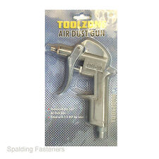 """Toolzone Air Dust Blower Gun Tool Head For 1/4"""" BSP Air Inlet Hose"""