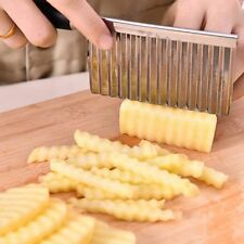 Vegetable Fruit Wavy French Fry Cutters Potato Cucumber Carrot Cutting Slicer CN