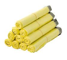 10-100 Rollen Gelbe Säcke Gelber Sack Abfallsäcke Müllbeutel Mülltüten 90L