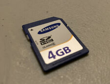 Samsung SDHC 4GB Memory Card, CLEANED AND TESTED. Class 4