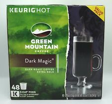 GREEN MOUNTAIN COFFEE DARK MAGIC KEURIG (48 K-CUP) BRAND NEW IN RETAIL BOX!