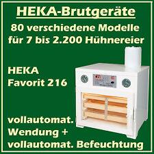 Heka FAVORIT 216 - Incubateur avec entièrement automatique humidification,pour
