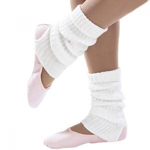 Soft Knit Acrylic 40cm Stirrup Leg Warmers In Plain & Lurex|Dance Ballet