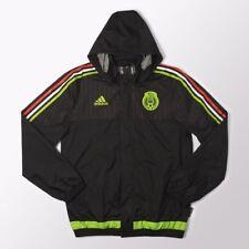 NEW Adidas Mens Seleccion Mexicana Mexico FMF Rain Soccer Player Jacket SMALL S