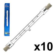 10 FINELITE ENERGY SAVING 110v 400w=500w SECURITY FLOOD SITE LIGHT R7 BULB 118mm
