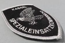 SEK HESSEN  KASSEL SPEZIALEINSATZKOMMANDO Polizei SWAT Patch  m.KLETT Abzeichen