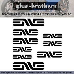 Enve Aufkleber Farbauswahl Fahrrad Decal Rennrad Bike Rad Laufräder Sticker