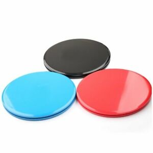 Gliding Discs Fitness Workout Exercise Round Shape Sliders Strength Training