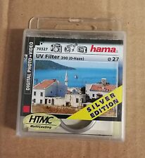 Hama UV Filter UV-390 (O-Haze) - filtre - filtre ultraviolet - 27 mm