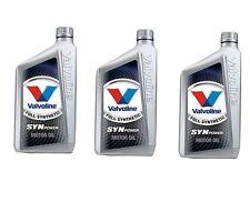 VALVOLINE SYNPOWER 4T 10W 40 OLIO MOTORE MOTO 100% SINTETICO 3lt KTM